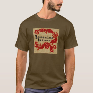 T-shirt T-shirt, betyars de Bohème, hongrois