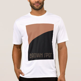 T-shirt Tache brune