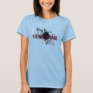 T-shirt Tache d'huile de pétrole du Texas de chemises de