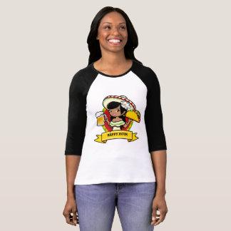 T-shirt Taco d'heure heureuse