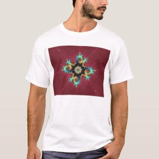 T-shirt Talisman rouge-foncé (T-shirt)