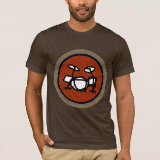 T-shirt tambours, pour des musiciens