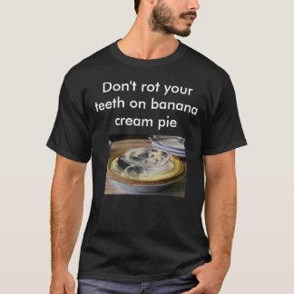 T-shirt Tarte crème de banane