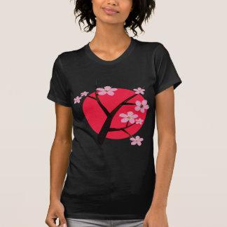 T-shirt Tatouage japonais de fleurs de cerisier