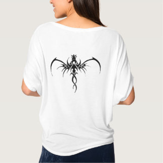 T-shirt Tatto noir de dragon