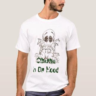 T-shirt tattthulu_by_jericodarkwynd, Cthulhu dans le capot
