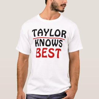 T-shirt Taylor Knows meilleure