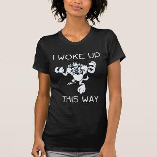 T-shirt TAZ™ I a réveillé de cette façon