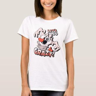 """T-shirt TAZ™ """"nous a laissés partir fous !"""" Image tramée"""