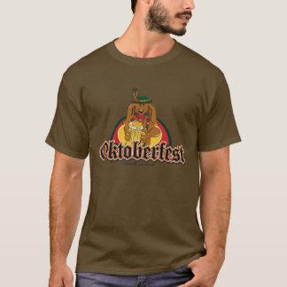 T-shirt Teckel d'Oktoberfest