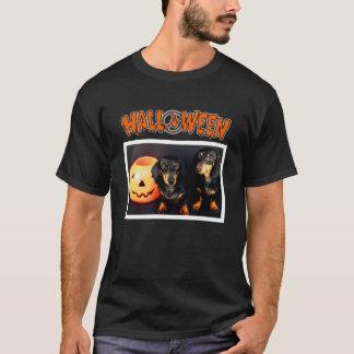 T-shirt Teckel Halloween
