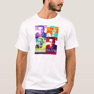 T-shirt Ted Cruz : Couleurs audacieuses, aucuns pastels