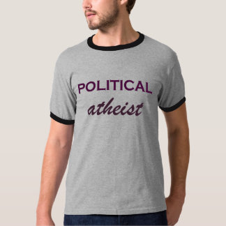 T-shirt Tee - shirt athée politique humoristique