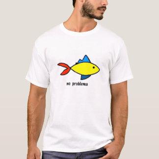 T-shirt Tee - shirt avec la caricature colorée de poissons