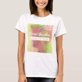 T-shirt Tee - shirt béni d'assurance