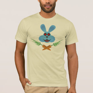 T-shirt Tee - shirt croisé de carottes de lapin