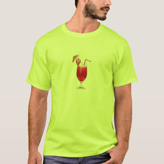 T-shirt Tee - shirt de cocktail