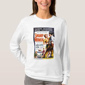 """T-shirt Tee - shirt """"de femmes de marais"""""""