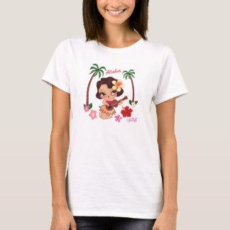 T-shirt Tee - shirt de Lulu de danse polynésienne