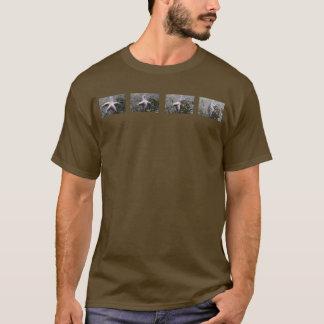 T-shirt Tee - shirt de renversement d'étoiles de mer
