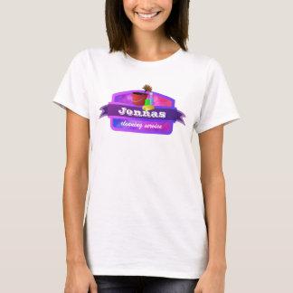 T-shirt Tee - shirt de service de nettoyage
