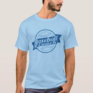 T-shirt Tee - shirt d'entraîneur de base-ball