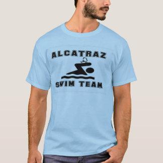 T-shirt Tee - shirt d'équipe de natation d'Alcatraz