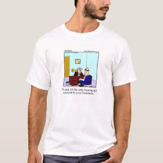 T-shirt Tee - shirt d'humour d'assurance maladie