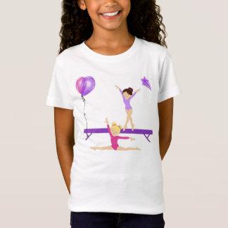 T-Shirt Tee - shirt gymnastique de filles