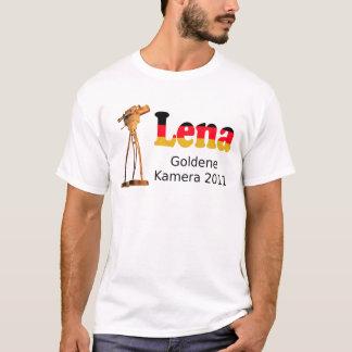 T-shirt Tee-shirt Lena caméra dorée