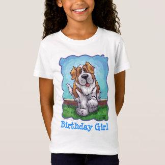T-Shirt Tee - shirt mignon de fille d'anniversaire de St