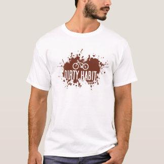 T-shirt Tee - shirt sale de l'habitude MTB