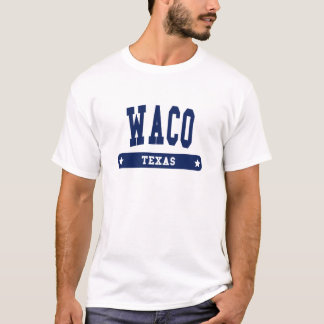 T-shirt Tee - shirts de style d'université de Waco le