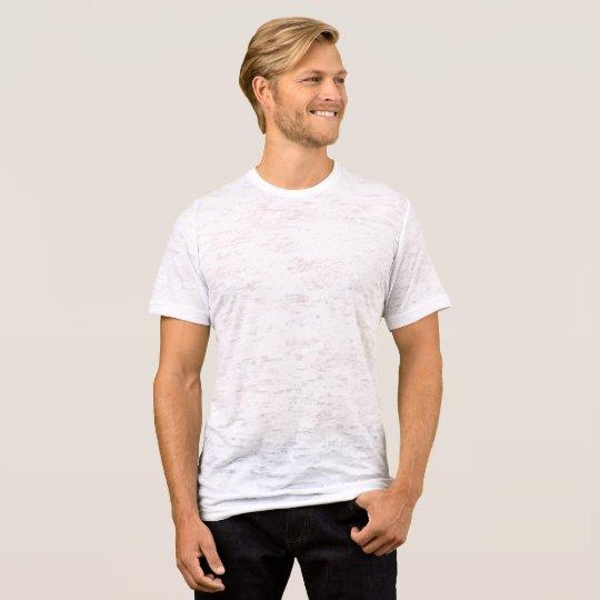 T-shirt délavé et cintré, Blanc vieilli