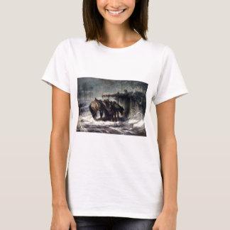 T-shirt Tempête de neige d'Adolf Schreyer Wallachian
