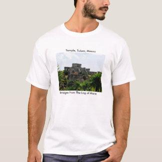 T-shirt Temple, Tulum, Mexique