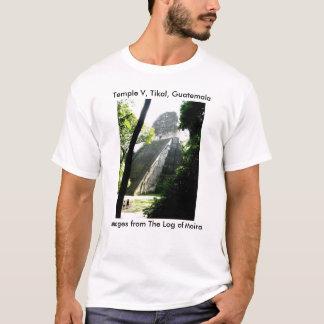 T-shirt Temple V, Tikal, Guatemala