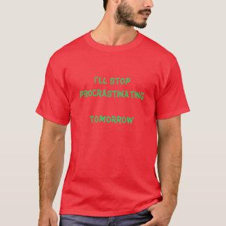 T-shirt temporisation demain