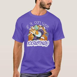T-shirt Temporisez - la pièce en t des hommes de poulets