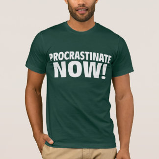 T-shirt Temporisez maintenant !