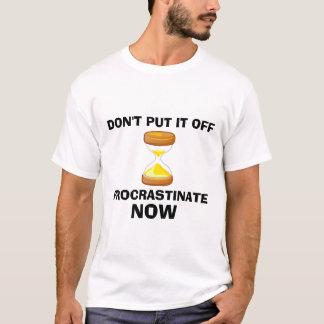 T-shirt Temporisez maintenant