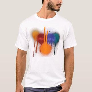 T-shirt Temps de partie avec la peinture !