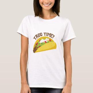 T-shirt Temps de taco