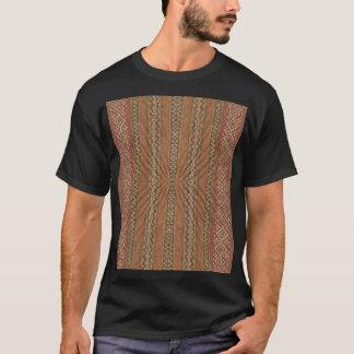 T-shirt Tenez la pièce en t serrée de motif