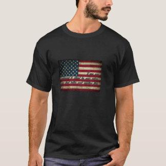 T-shirt Tenez-vous prêt votre drapeau