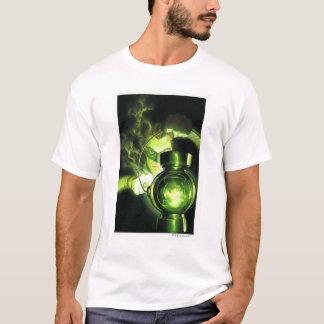 T-shirt Tenir la lanterne verte