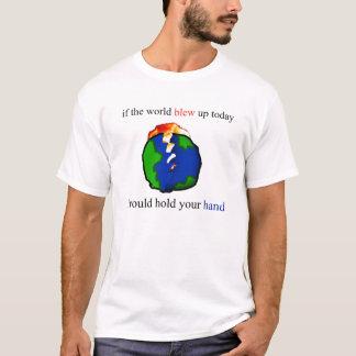 T-shirt Tenir votre main
