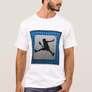 T-shirt Tennis en aluminium balayé de regard