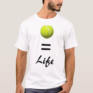 T-shirt Tennis=Life