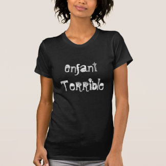 T-shirt terrible d'Enfant